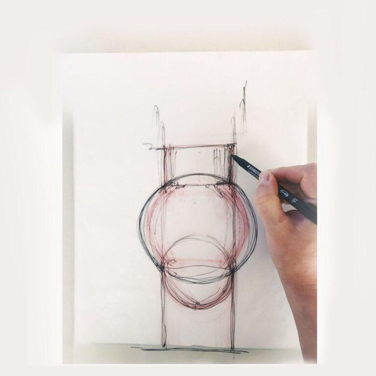De Deense architect Mikkel Lang Mikkelsen van Studio About is de ontwerper van deze met de hand geblazen vazen.