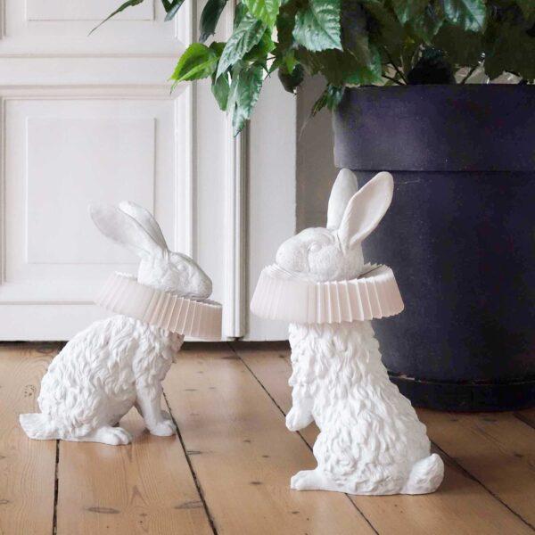 Wij zijn verliefd op die prachtige Rabbit X lampen van Hao Shi. Konijnen als lamp. Dat wil toch iedereen?